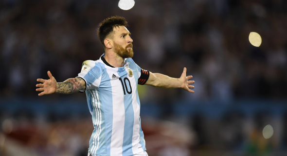 Lionel Messi in Argentina's team uniform. Photo: AFP