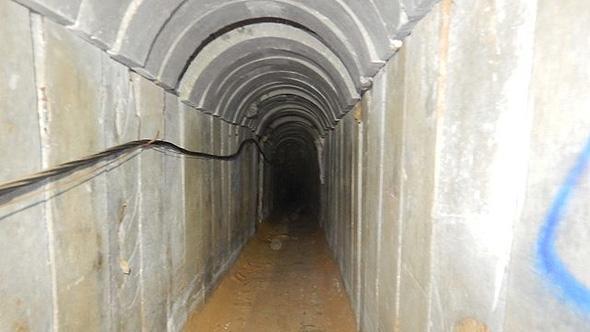 המנהרה שפוצצה היום