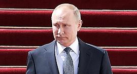 מוסף שבועי 31.5.18 נשיא רוסיה ולדימיר פוטין ב קרמלין, צילום: גטי אימג'ס