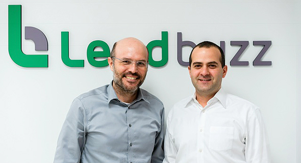Lendbuzz CEO Amitay Kalmar (left) and CTO Dan Raviv. Photo: PR