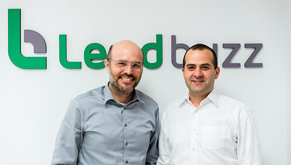 Lendbuzz co-founder Dan Raviv (left) and Amitay Kalmar