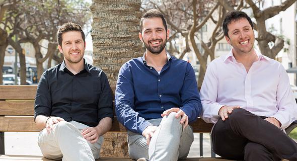 Vulcan Co-founders Roy Horev, Yaniv Bar-Dayan, and Tal Morgenstern. Photo: Maxim Dinshtein