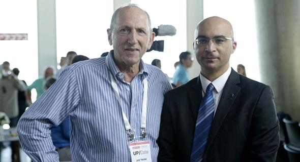 מימין ברק סורני ושמואל קוגן , צילום: עמית שעל