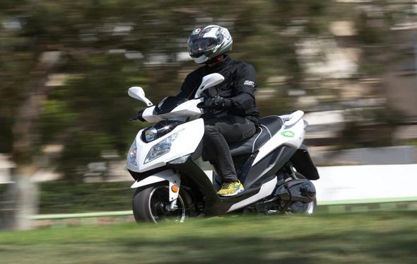 קטנוע חשמלי של בליץ מוטורס