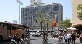 רחוב אבן גבירול עיריית תל אביב, צילום: אוראל כהן