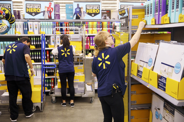 Walmart. Photo: Bloomberg