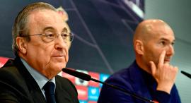 זינאדין זידאן פלורנטינו פרס מאמן ריאל מדריד נשיא ריאל מדריד, צילום: איי אף פי