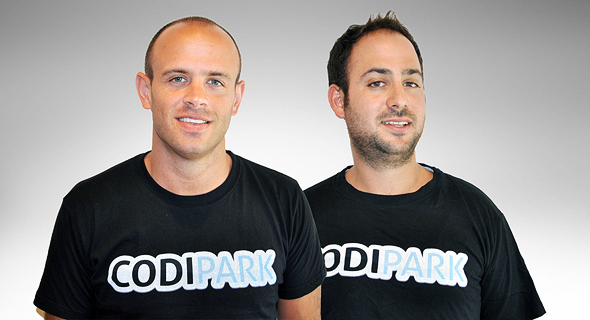 Codipark co-founders Ilan Tavor (left) and Tomer Binamowitch. Photo: PR