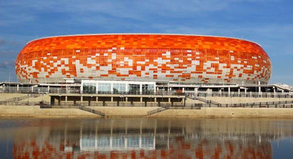 האצטדיון במורדוביה. פילים לבנים ברחבי המדינה, צילום: איי פי