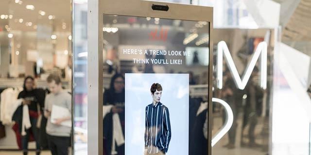 חדש ב-H&M: מראה חכמה תציע ללקוחות בגדים שמתאימים להם