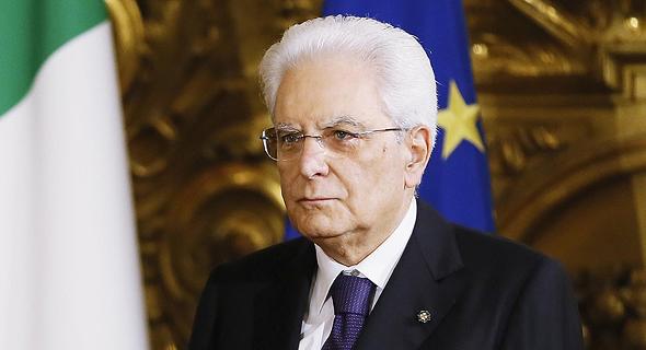 נשיא איטליה סרג'ו מטרלה