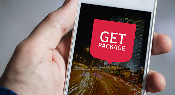 אפליקציית GetPackage, צילום: getpackage