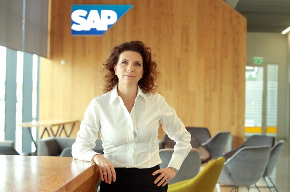 Orna Kleinman, managing director of SAP Labs Israel. Photo: Orel Cohen