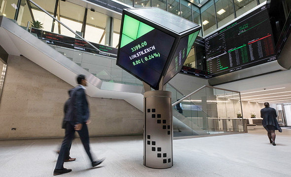 The London Stock Exchange. Photo: Bloomberg