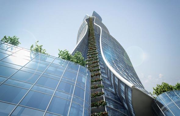צילום של המגדל (הדמיה), הדמיה: מילוסלבסקי אדריכלים