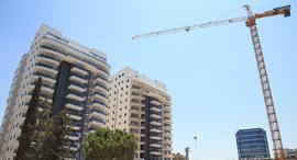 בנייה בקריית אונו, צילום: אוראל כהן
