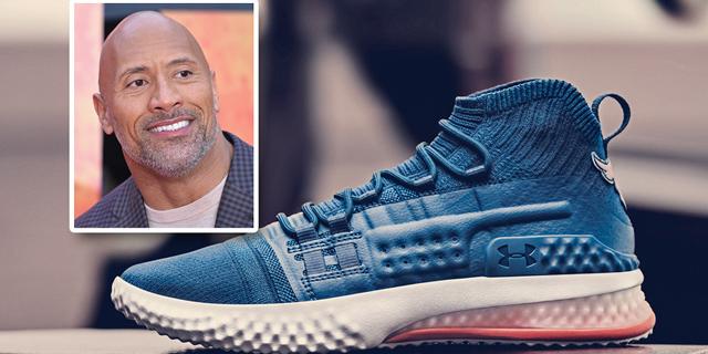 """אנדר ארמור: נעלי הספורט של השחקן והמתאבק דווין """"הרוק"""" ג'ונסון נחטפו תוך 30 דקות"""