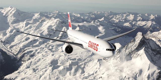 מטוס של סוויס, צילום: SWISS