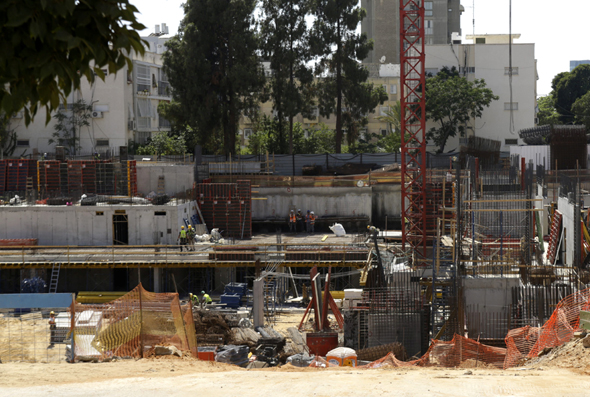 בנייה ברחוב לה גווארדיה ביד אליהו