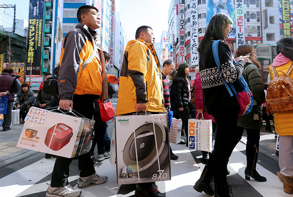 תיירים סינים ביפן. יפן לא פיצתה את קורבנות המלחמה