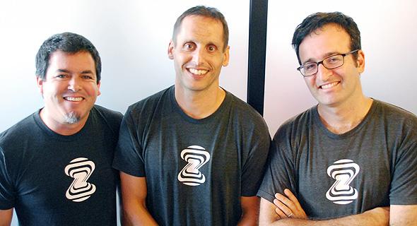 Zebra Medical Co-Founders Eyal Toledano, Elad Benjamin and Eyal Gura. Photo: PR