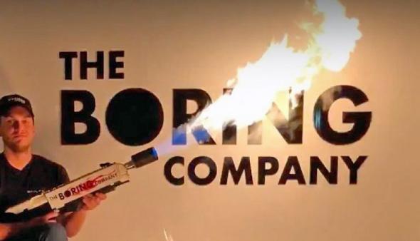 להביור אלון מאסק בורינג קומפני , צילום: The Boring Company