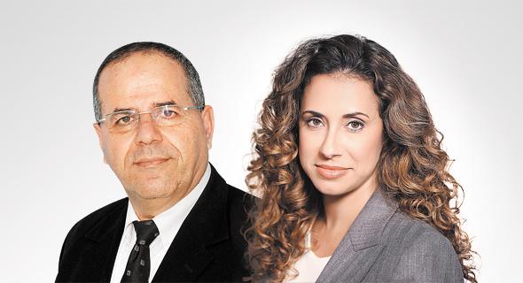 """מנכ""""לית HOT טל גרנות גולדשטיין ושר התקשורת איוב קרא , צילום: רמי זרנגר, יחצ"""