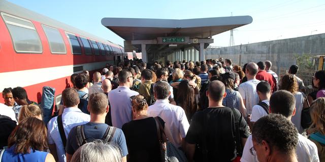 רצף של תקלות ברכבת: שתי נסיעות בקו החצי חשמלי לירושלים בוטלו