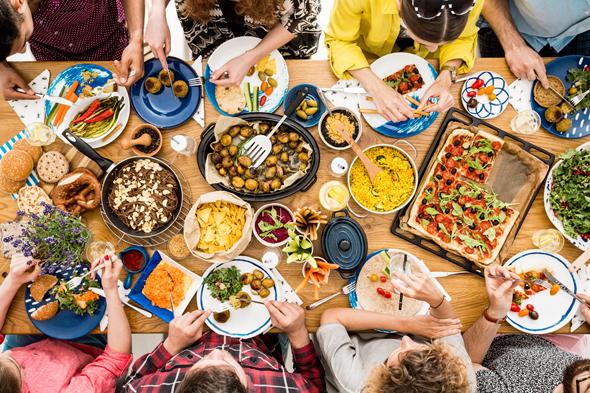 Mindful eating (illustration). Photo: Shutterstock