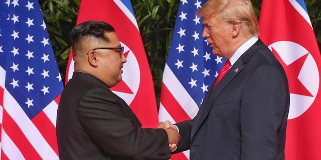 """טראמפ ייפגש עם קים בהאנוי: """"צפון קוריאה תהפוך לטיל כלכלי"""""""