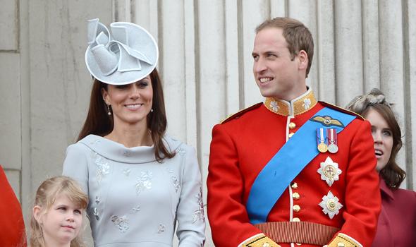 הנסיך וויליאם ורעייתו, קייט מידלטון