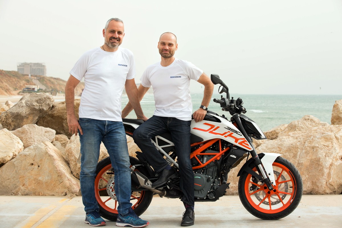 Ride Vision founders Uri Lavi and Lior Cohen. Photo: PR