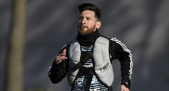 ליאו מסי נבחרת ארגנטינה, צילום: איי אף פי