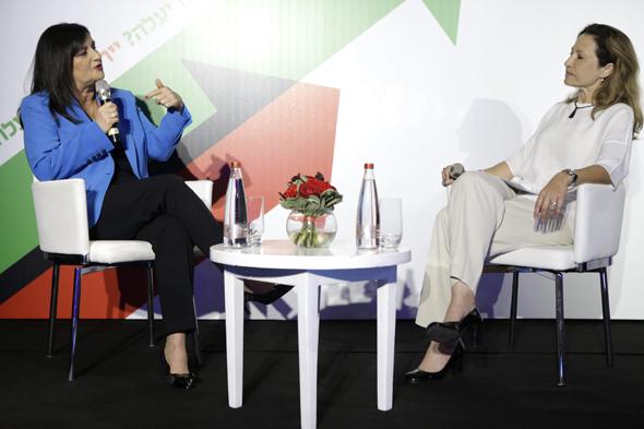 """סמדר ברבר צדיק מנכ""""לית הבינלאומי בשיחה עם עורכת כלכליסט גלית חמי"""