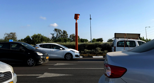 מלצמת מהירות של המשטרה. דווקא ללא מצלמות נרשמה ירידה דרסטית בתאונות