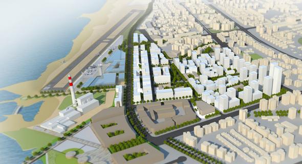 """הדמיית התוכנית של עיריית ת""""א"""