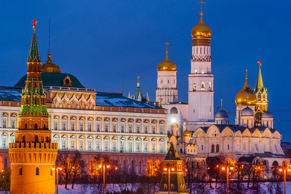 The Kremlin. Photo: Shutterstock