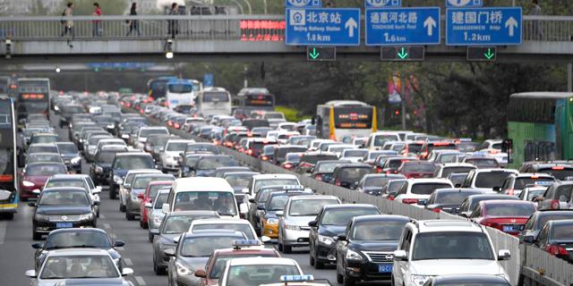 מכונית מודל 1984: ממשלת סין תחייב התקנת צ'יפ מעקב בכל רכב