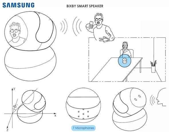 נייד ועם ראש מסתובב: סמסונג מפתחת רמקול חכם ייחודי