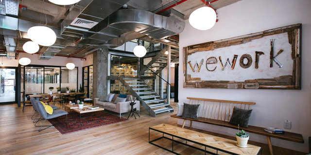 WeWork space. Photo: WeWork