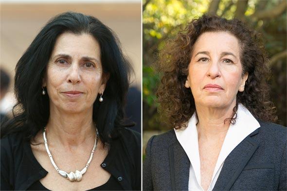 מימין ענת לוין ו דורית סלינגר, צילומים: אוראל כהן