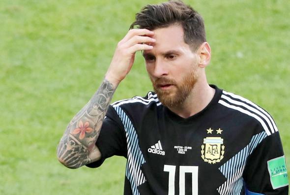 ארגנטינה נגד איסלנד מונדיאל 2018 ליאו מסי, צילוםף אי פי איי