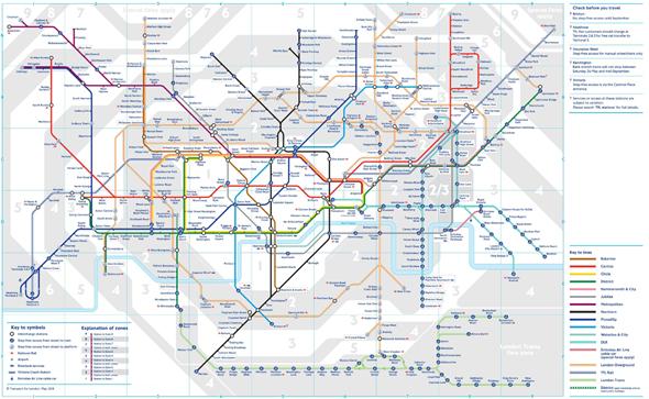 מפת ה-Tube של לונדון