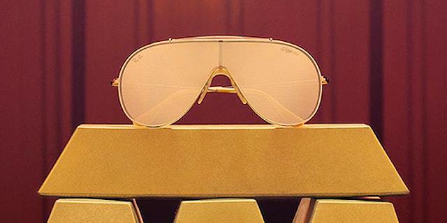 ריי באן השיקה מהדורה מוגבלת של משקפי שמש מזהב - וכולם נחטפו