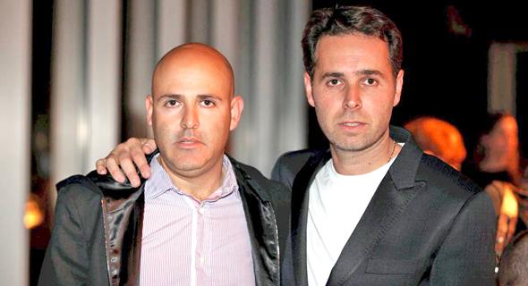 מימין: ברק רוזן ואסי טוכמאייר בעלי השליטה בישראל קנדה , צילום: אוראל כהן