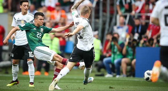 מקסיקו נגד גרמניה