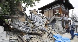 נזקי רעידת האדמה ליפן, צילום: רויטרס