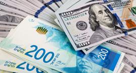 """שקל דולר מט""""ח מטבע חוץ שער חליפין כסף מזומן , צילום: שאטרסטוק"""