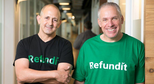ReFundit's Ziv Tirosh (left) and Uri Levin. Photo: ReFundit