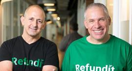 ReFundit's Ziv Tirosh (left) and Uri Levine. Photo